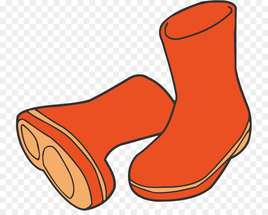 Wellington boots clipart clip art transparent Orange Background clipart - Orange, Line, Product ... clip art transparent