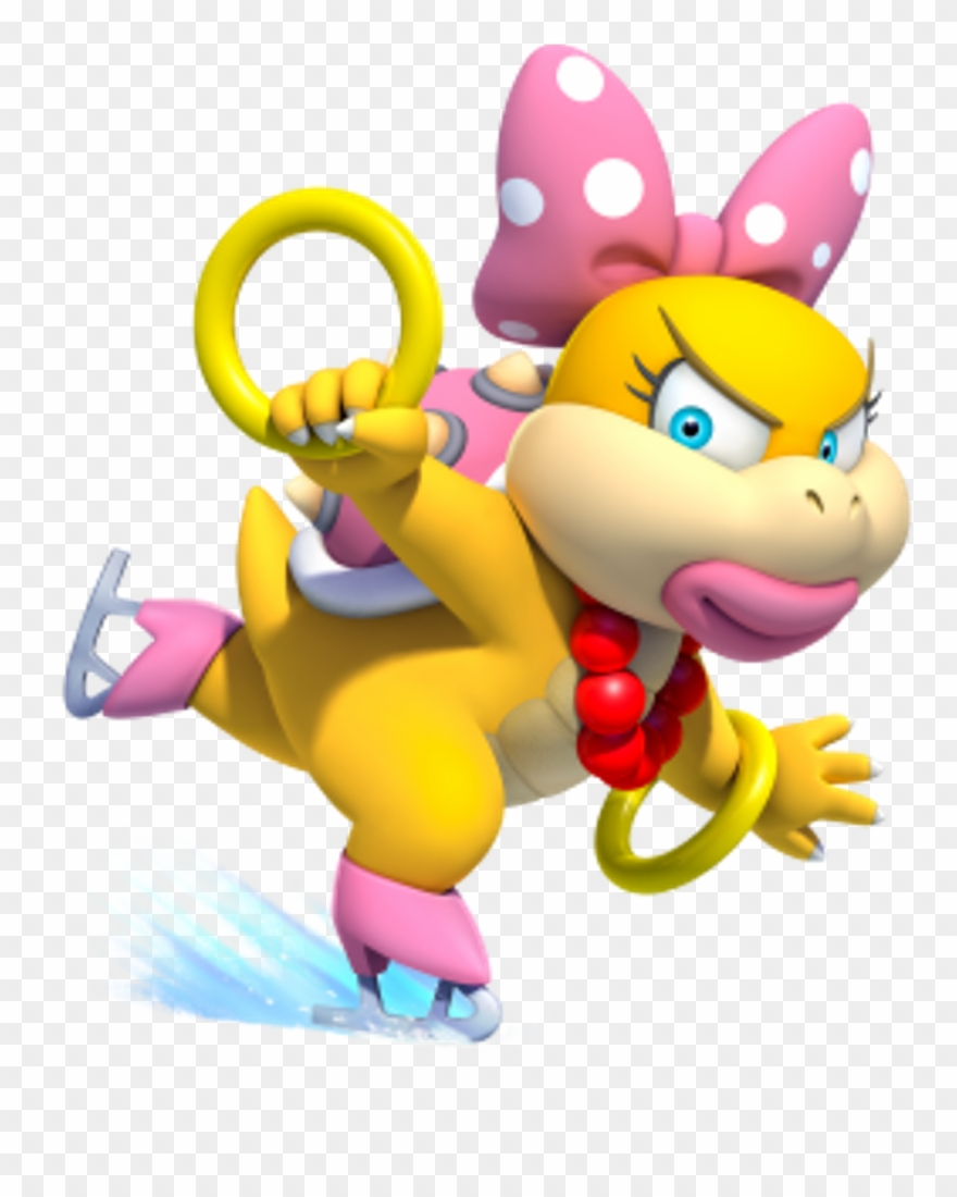 Wendy o koopa clipart picture free stock Nintendo Wendyokoopa Koopalings Pink Bowser Wendy O Clipart ... picture free stock