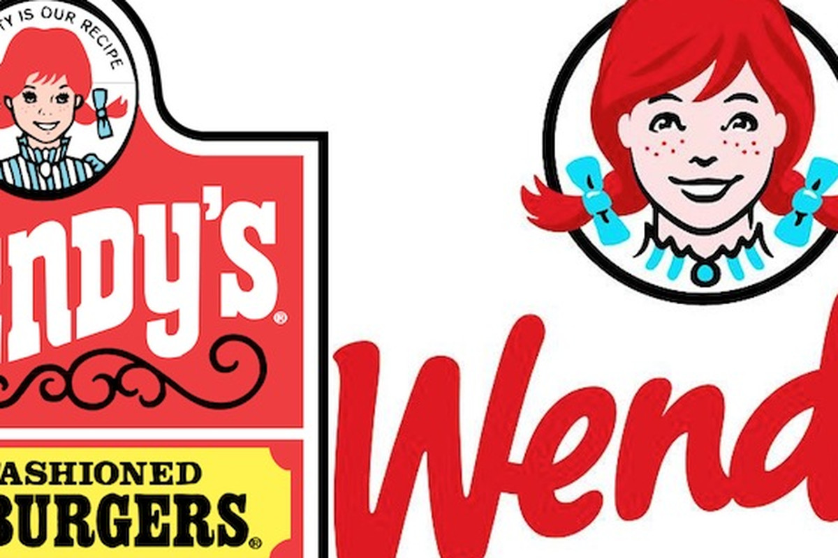 Wendys logo clipart picture black and white Check Out Wendy\'s New \'Ultra-Modern\' Logo - Eater picture black and white