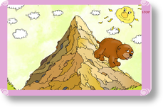 Went over clipart png royalty free stock MightyBook : The Bear Went Over the Mountain png royalty free stock