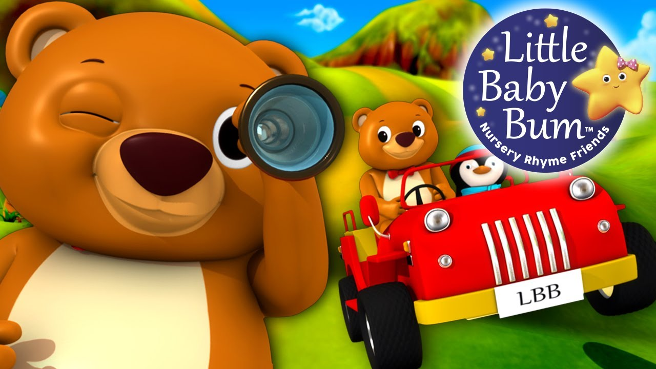 Went over clipart png freeuse library The Bear Went Over The Mountain - Nursery Rhyme The Bear ... png freeuse library