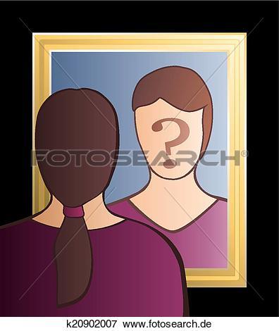 Wer bin ich clipart banner free Clip Art - spiegel, wer, bin, ich, frau k20902007 - Suche Clipart ... banner free