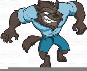 Werewolf halloween clipart picture free stock Halloween Werewolf Clipart Free | Free Images at Clker.com ... picture free stock