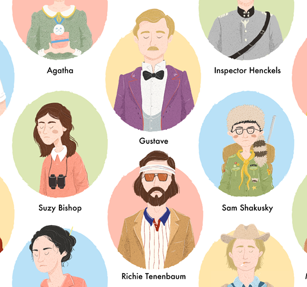 Wes anderson clipart