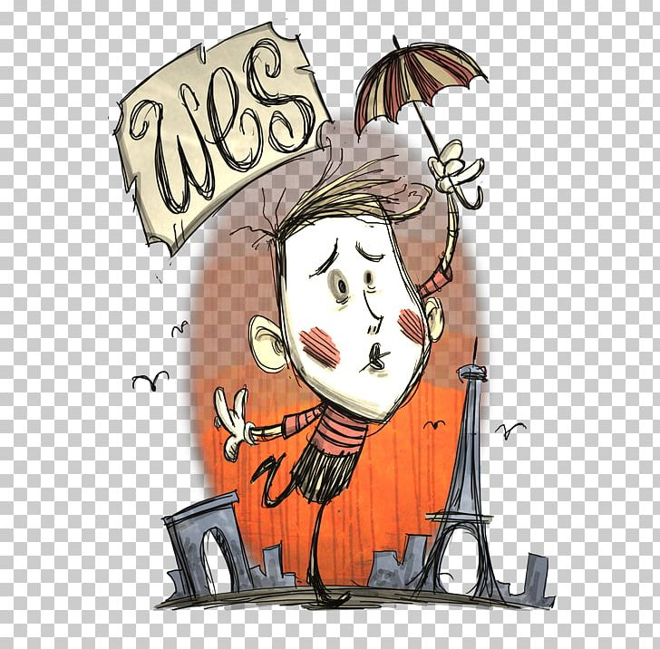 Wes clipart clipart royalty free Don\'t Starve Together Wes PlayStation 4 Video Game YouTube ... clipart royalty free