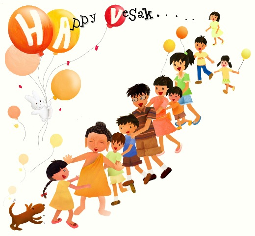 Wesak day clipart picture free stock Vesak   D-kidz.com   Buddhism for Kids picture free stock