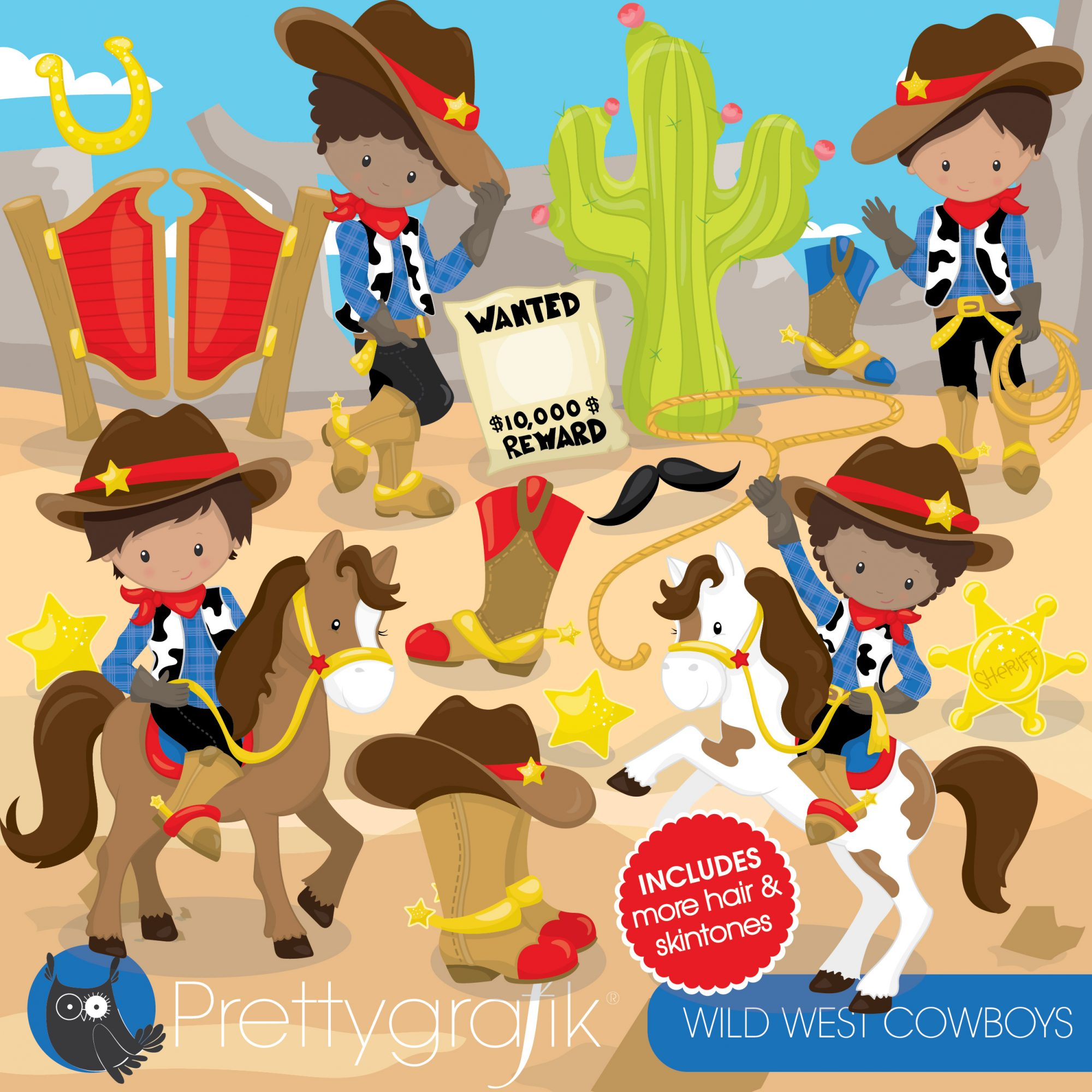 West store sign clipart png free library Wild west cowboys clipart png free library