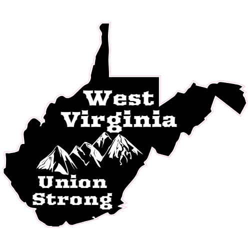 West virginia roots clipart royalty free library West Virginia Union Strong Sticker royalty free library