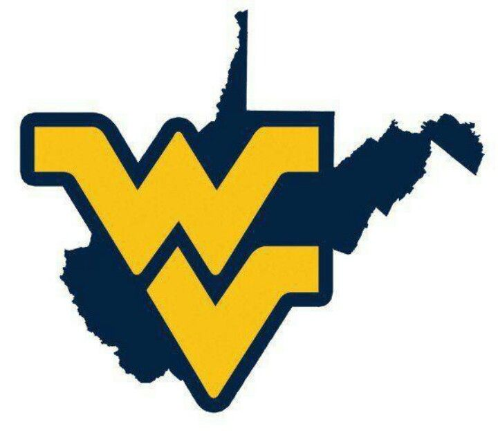 West virginia university clipart graphic black and white download Pin by Robin Curry on my favorite team | Virginia state ... graphic black and white download