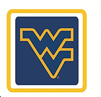 West virginia university clipart freeuse Amazon.com: 3 Inch WV Logo Decal WVU West Virginia ... freeuse