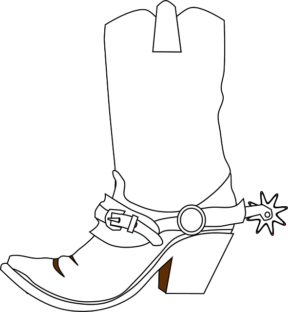 Western boot and spur clipart graphic free download Cowboy Spurs Drawing at PaintingValley.com | Explore ... graphic free download