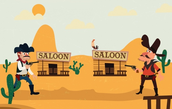 Wild background clipart clipart royalty free download Wild west clipart free vector download (4,410 Free vector ... clipart royalty free download