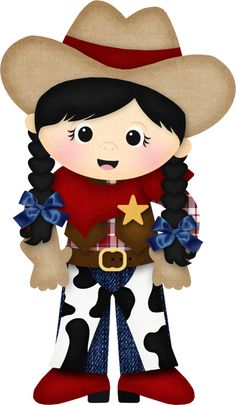 Western clipart cowgirl image 243 Best Western/Cowboy & Cowgirl Clipart images in 2019 ... image