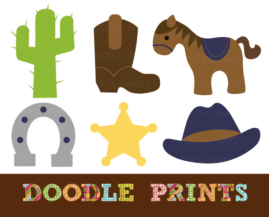 Western images clipart png royalty free Cowboy Western Clipart by | Clipart Panda - Free Clipart Images png royalty free