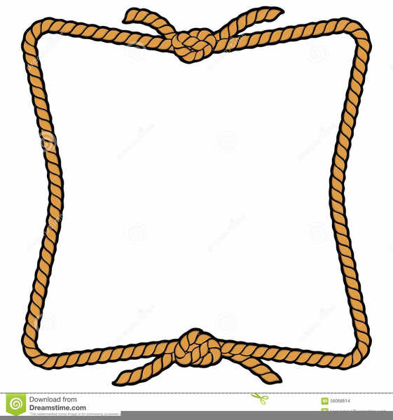 Western clipart rope vector transparent library Free Western Rope Clipart | Free Images at Clker.com ... vector transparent library