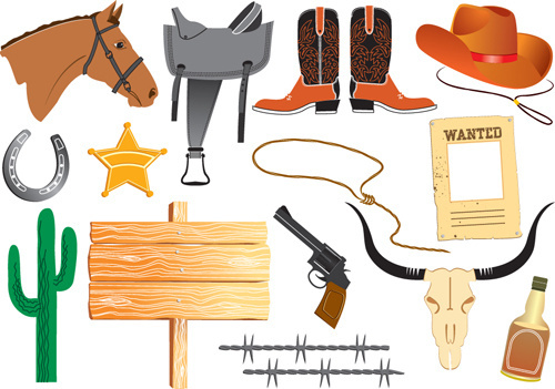 Western clipart vector graphic black and white stock Wild west clipart free vector download (4,410 Free vector ... graphic black and white stock