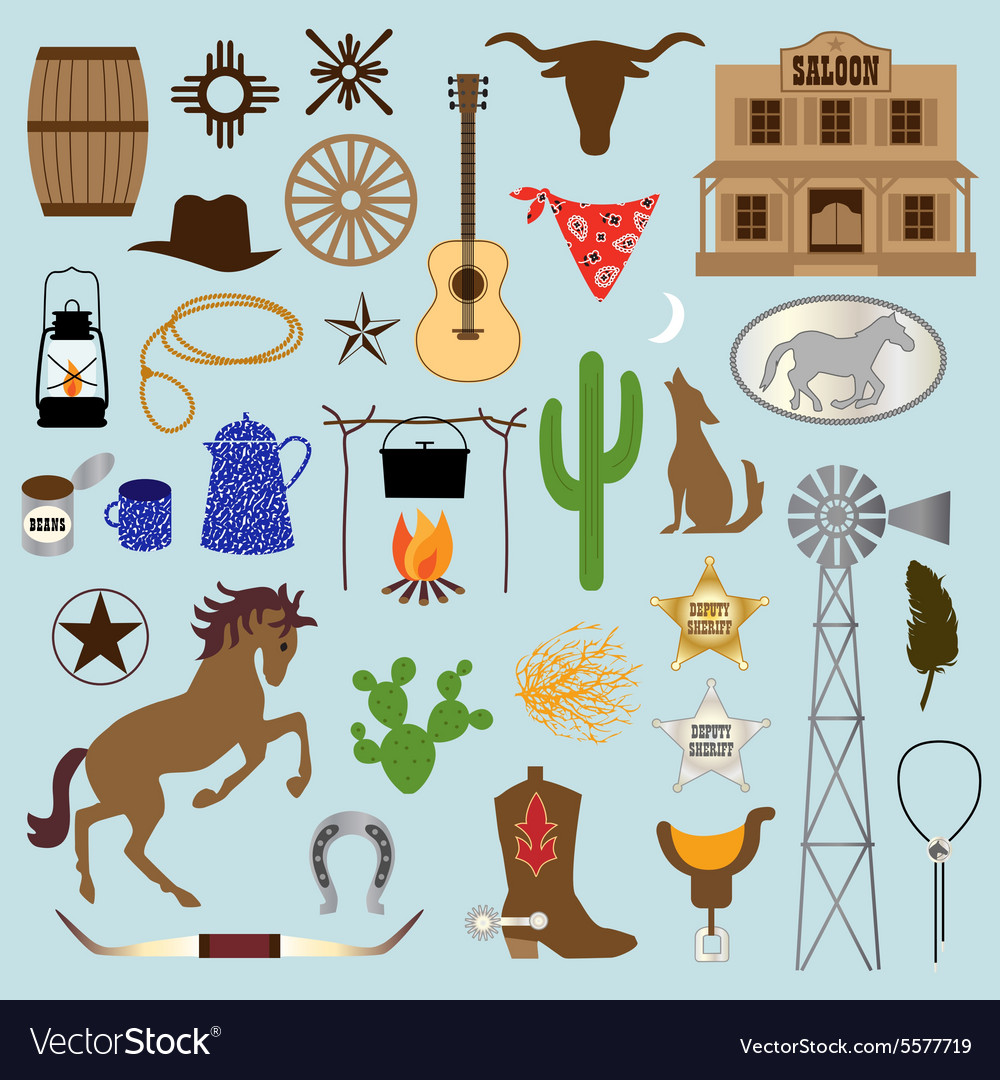 Western clipart vector svg free stock Cowboy clipart svg free stock