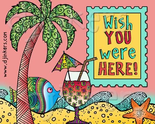 Western daze clipart clip art library download wish you were here, postcard, beach clip art, ocean, seaside ... clip art library download