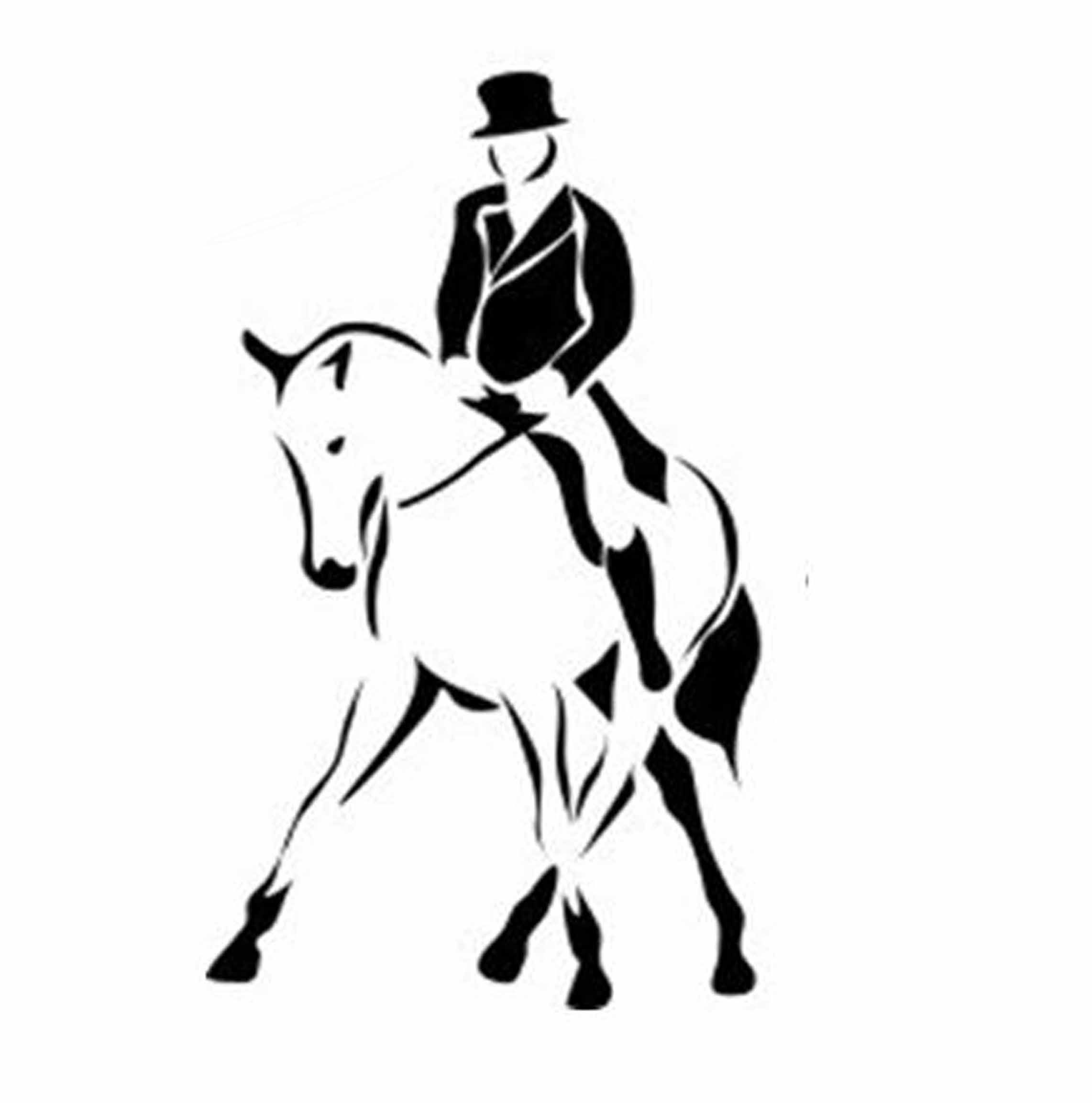 Western dressage clipart picture library library Dressage Clip Art   Clasby Creations Inspirations in 2019 ... picture library library