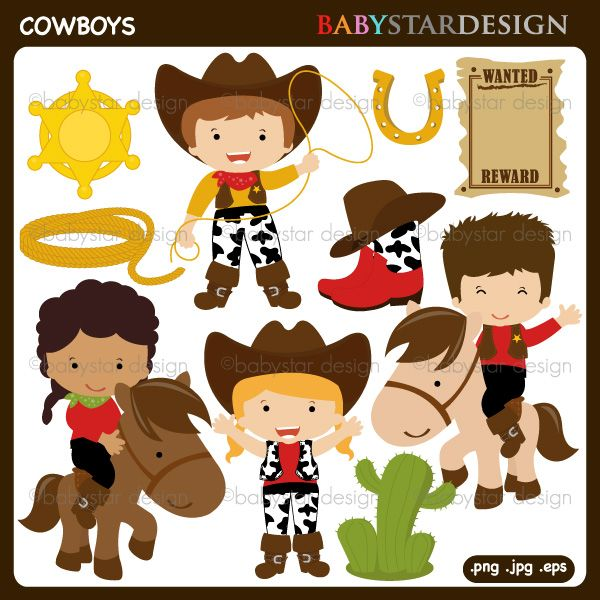 Western girl family clipart jpg black and white stock Families clipart cowboy - 16 transparent clip arts, images ... jpg black and white stock