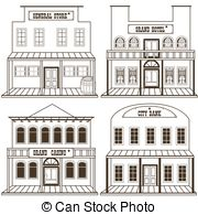Western hotel clipart vector freeuse download Western architecture Clip Art and Stock Illustrations. 902 ... vector freeuse download