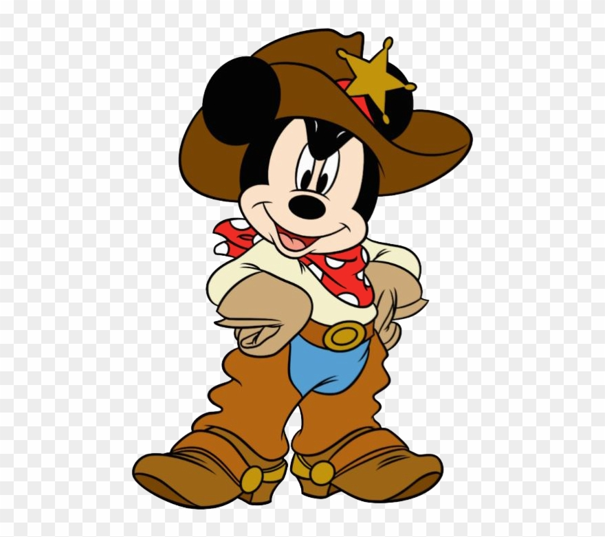 Western mickey clipart clip art royalty free Pin By Jess S - Cowboy Mickey Mouse Png Clipart (#19575 ... clip art royalty free