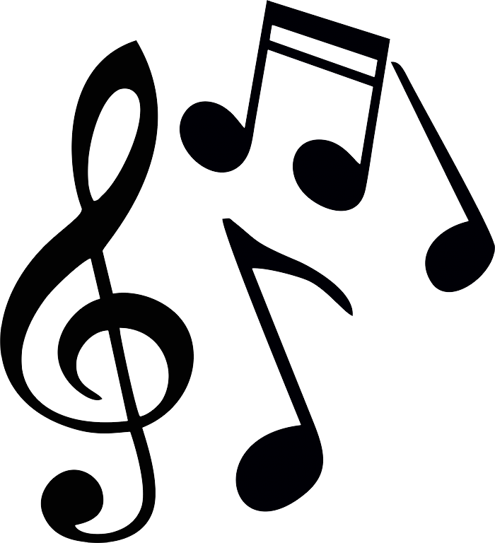 Western music clipart black and white png picture transparent Music notes PNG images free download, note clef PNG picture transparent