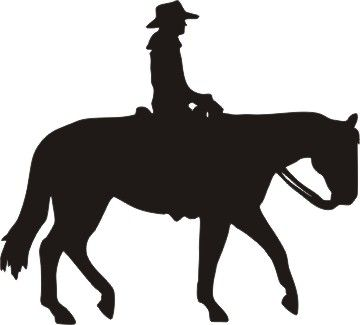Western pleasure horse clipart picture royalty free western pleasure horse with rider   Cowboy art   Horse ... picture royalty free