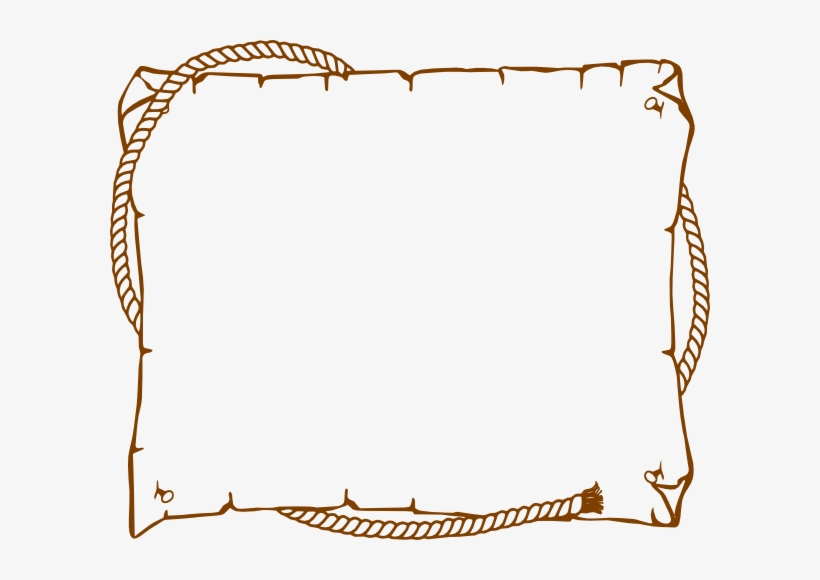 Western rope border clipart picture freeuse Border Rope Western Clip Art At Clker Com Vector Clip ... picture freeuse