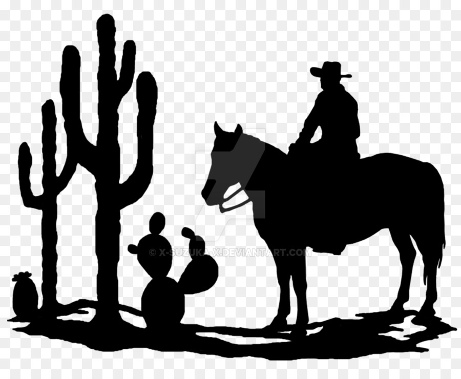 Western silhouette clipart image black and white library Painting Cartoon clipart - Silhouette, Painting, Cartoon ... image black and white library