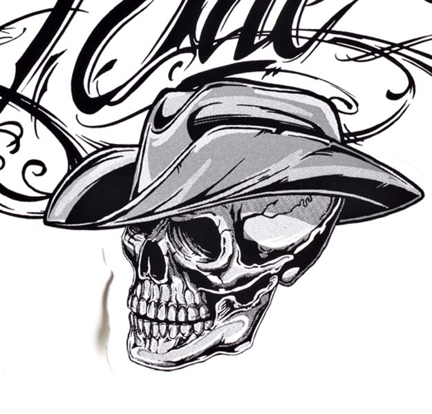Western skull clipart clipart black and white download Cowboy Skull Drawing at PaintingValley.com | Explore ... clipart black and white download