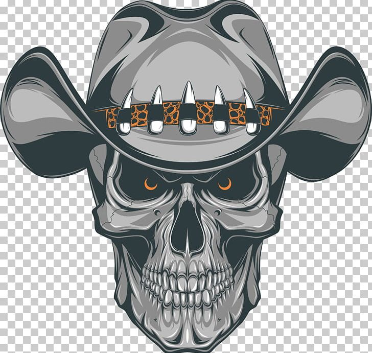 Western skull clipart clipart library library Old School (tattoo) Skull Cowboy PNG, Clipart, Animals, Bone ... clipart library library
