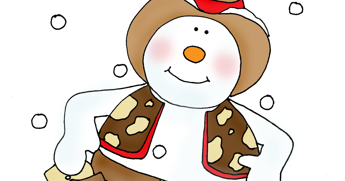 Western snowman clipart vector royalty free library Free Dearie Dolls Digi Stamps: As requested....Cowboy Snowman vector royalty free library
