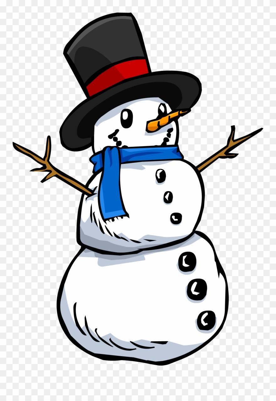 Western snowman clipart image Clipart Snowman Female - Snowman Clipart Transparent ... image