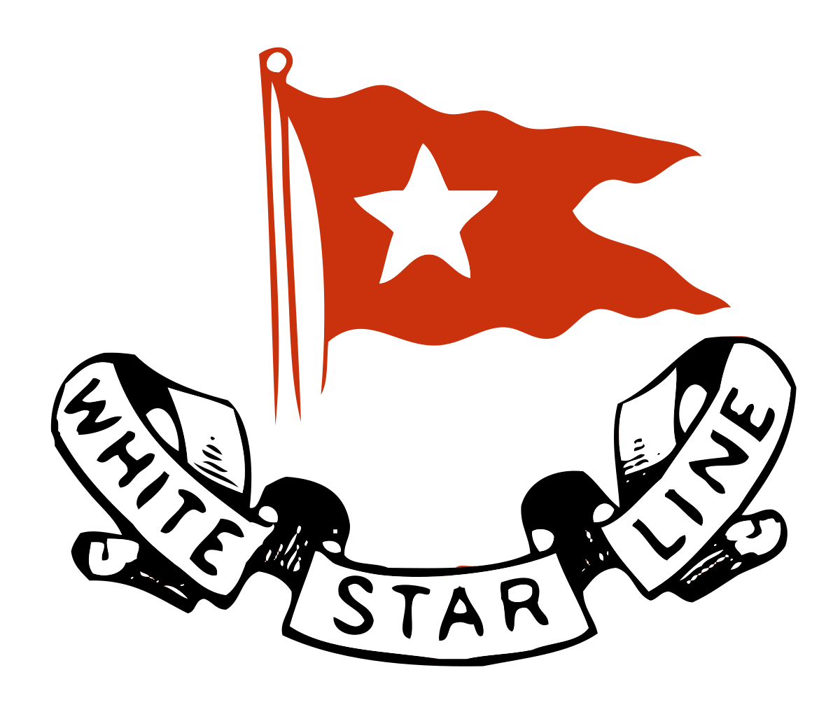 Western star line clipart black and white download White Star Line - Wikipedia black and white download