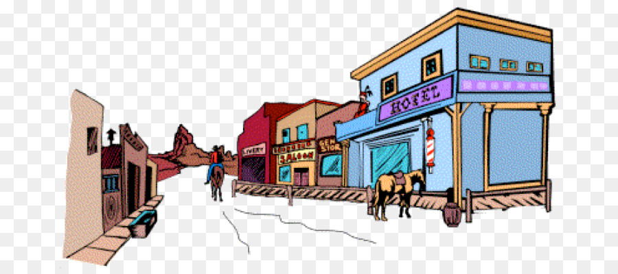 Western town clipart free clipart royalty free House Cartoon png download - 762*399 - Free Transparent ... clipart royalty free