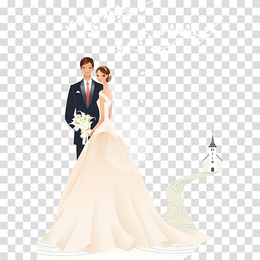 Western wedding couple clipart jpg library Couple illustration, Wedding invitation Greeting card Bride ... jpg library