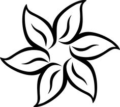 Western white flowers clipart black and white stock 7 Best Sunflower clipart images in 2017 | Western hats ... black and white stock