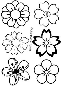 Western white flowers clipart banner stock 238 Best Flower silhouette images in 2019 | Flower ... banner stock