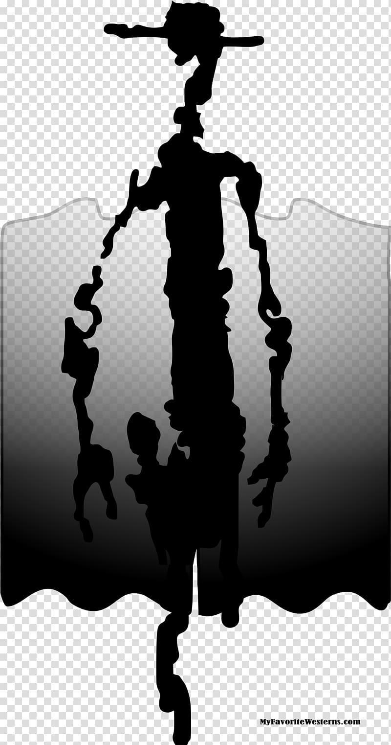Western xoxo clipart png jpg black and white Zorro Western Silhouette Clive Barker\'s Jericho, others ... jpg black and white