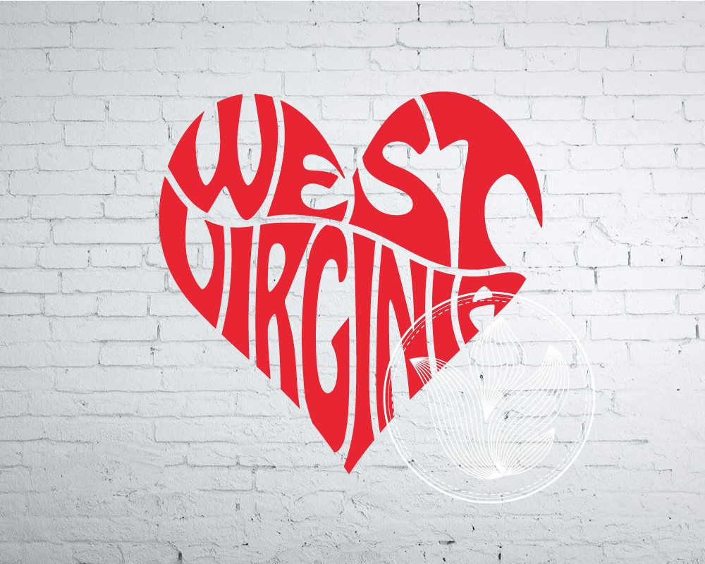 Western xoxo clipart png jpg free library West Virginia Word Art, West Virginia Svg Dxf Eps Png Jpg ... jpg free library