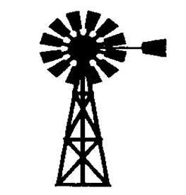 Westernwindmill black and white clipart jpg black and white windmill logo - Google Search | Harness the Wind | Pallet ... jpg black and white