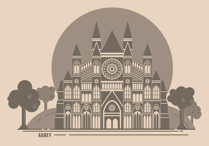 Westminster abbey clock clipart clipart freeuse library Westminster Abbey Free Vector Illustration - Download Free ... clipart freeuse library