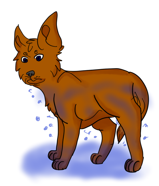Wet dog clipart clipart royalty free download Wet Dog by RainbyFolf on DeviantArt clipart royalty free download