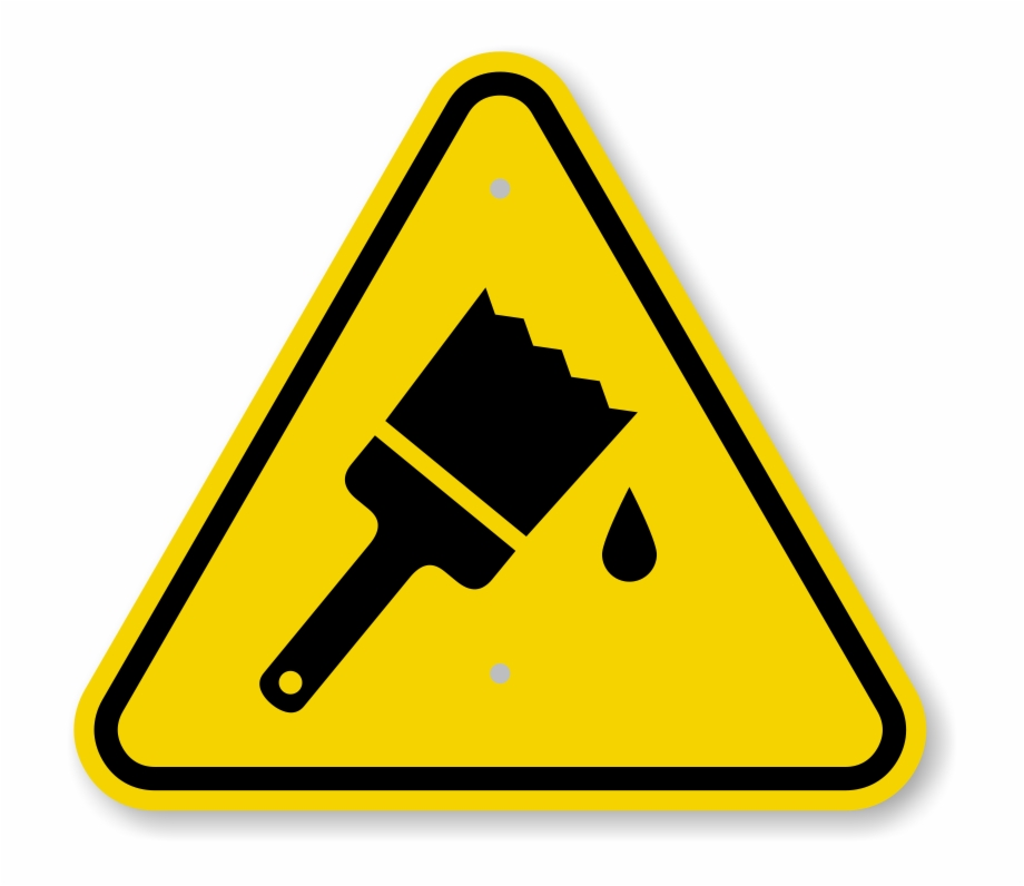 Wet paint clipart sign clip library stock Caution Wet Paint - Caution Wet Paint Sign Free PNG Images ... clip library stock