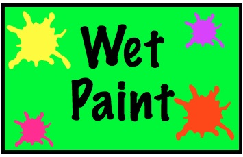 Wet paint clipart sign graphic stock Free Wet Paint Cliparts, Download Free Clip Art, Free Clip ... graphic stock
