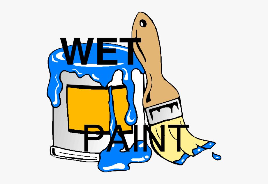Wet paint clipart sign clip art Wet Paint Clip Art - Paint Can Clip Art #41563 - Free ... clip art