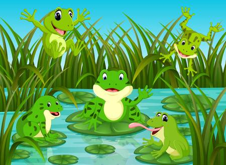 Wetland habitat clipart svg freeuse download Collection of 14 free Pond clipart frog habitat aztec ... svg freeuse download