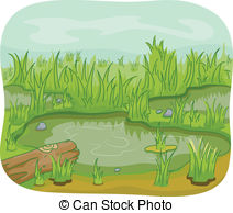 Wetland habitat clipart banner black and white download Wetland Illustrations and Clipart. 1,131 Wetland royalty ... banner black and white download