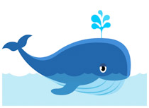 Wha e clipart clip library Whale Clipart | k2h clip library